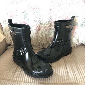 Coach Lester Rain Boots Size 6B